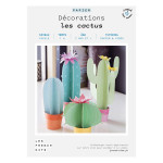 Kit papier Décorations les cactus