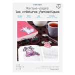 Kit papier Marque-pages les créatures fantastiques