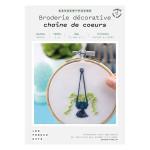 Kit savoir-faire Broderie décorative aloe vera