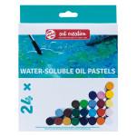 Pastel à l'huile Set 24 couleurs Solubles à l'eau