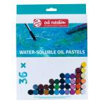 Pastel à l'huile Set 36 couleurs Solubles à l'eau