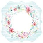 Wildflower - Papier spécial Die-cut Bracket