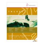 Papier Ingres en bloc - 9 teintes assorties - 100 g/m² - 24 x 32 cm