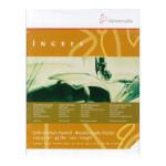 Papier Ingres blanc en bloc - 100 g/m² - 24 x 31 cm