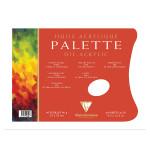 Palette pelable pour l'huile bloc de 40 feuilles 90g 24 x 32cm