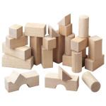 Jeu de construction Blocs en bois 26 pcs